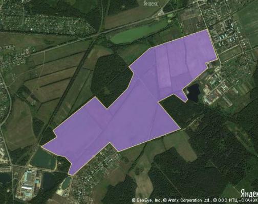 Участок 131.5 га под коттеджный поселок, Елизаветино, Ногинский район
