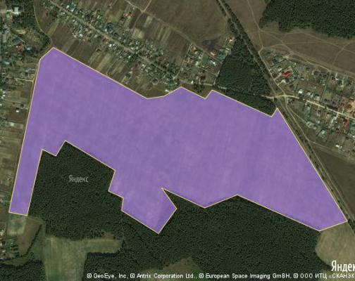 Участок 58.4 га под коттеджный поселок, Ямкино, Ногинский район