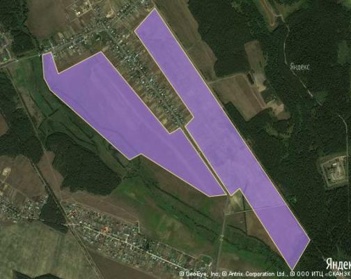 Участок 169.0 га под коттеджный поселок, Соколово, Ногинский район