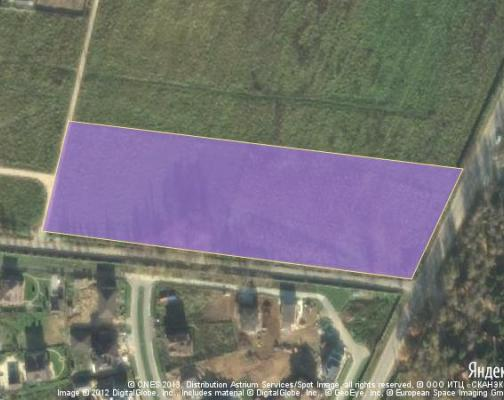 Участок 2.25 га под коттеджный поселок, Аносино, Истринский район