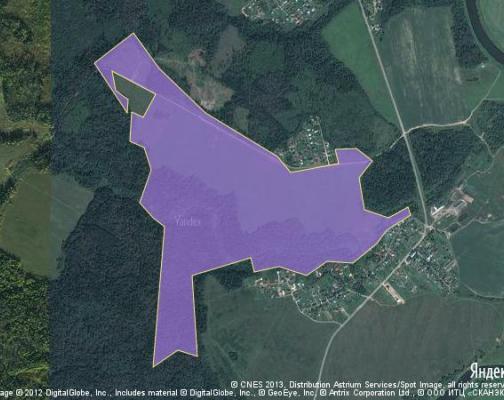 Участок 123.8 га под коттеджный поселок, Улитино, Одинцовский район