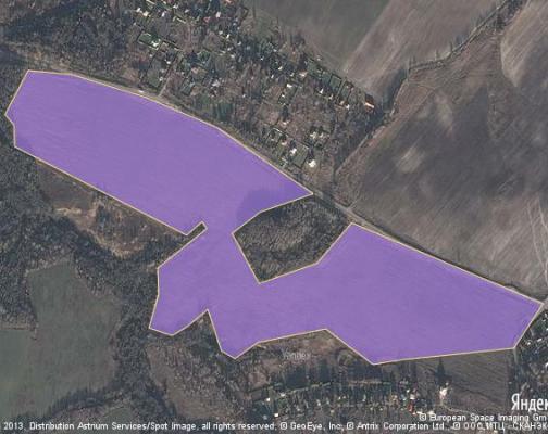 Участок 42.77 га под коттеджный поселок, Григорьевское, Клинский район