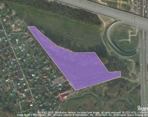 Участок 4.91 га под коттеджный поселок, Мелькисарово, Химкинский район
