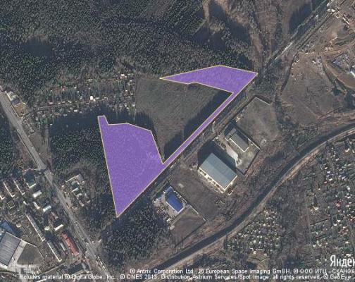 Участок 9.0 га под торгово-развлекательный комплекс, Радумля, Солнечногорский район