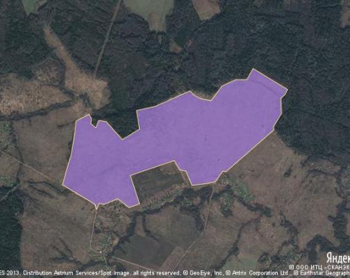 Участок 461.11 га под коттеджный поселок, Аниканово, Можайский район