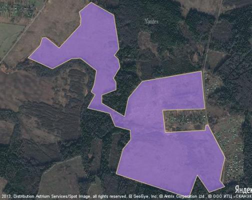 Участок 194.17 га под коттеджный поселок, Барцылово, Можайский район