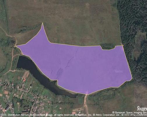 Участок 43.84 га под коттеджный поселок, Твердики, Можайский район