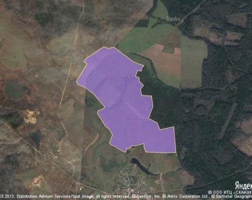 Участок 322.79 га под коттеджный поселок, Приданцево, Можайский район