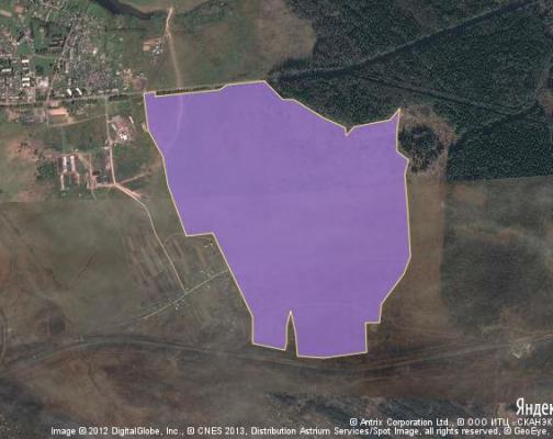 Участок 158.27 га под коттеджный поселок, Бобры, Можайский район