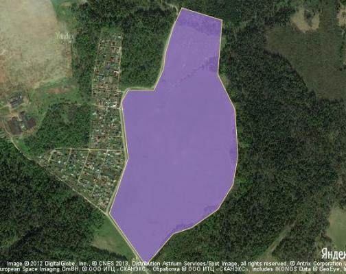Участок 42.52 га под коттеджный поселок, Клово, Наро-Фоминский район