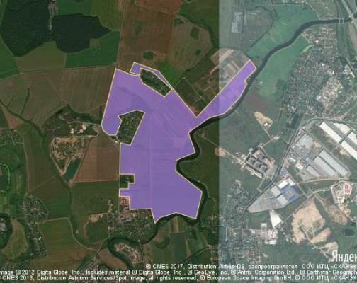 Участок 316.7 га под жилищное строительство, Быковка, Подольский район