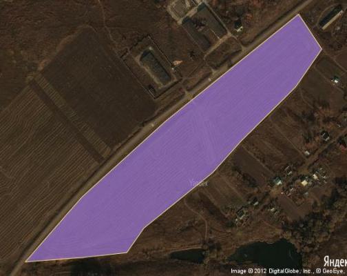 Участок 9.62 га под коттеджный поселок, Яблонево, Серебряно-Прудский район