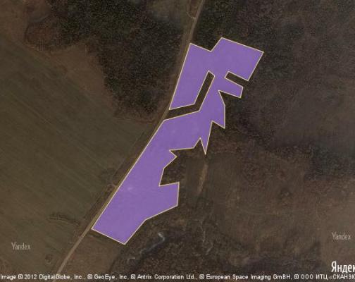 Участок 16.3 га под коттеджный поселок, Плоское, Шаховской район