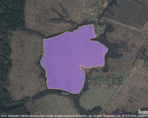 Участок 125.45 га под сельскохозяйственную деятельность, Лусось, Можайский район