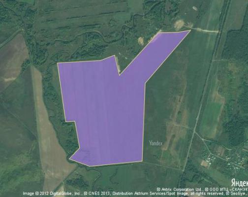 Участок 131.45 га под сельскохозяйственную деятельность, Раздолье, Клинский район