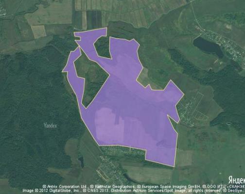 Участок 504.38 га под сельскохозяйственную деятельность, Малое Щапово, Клинский район