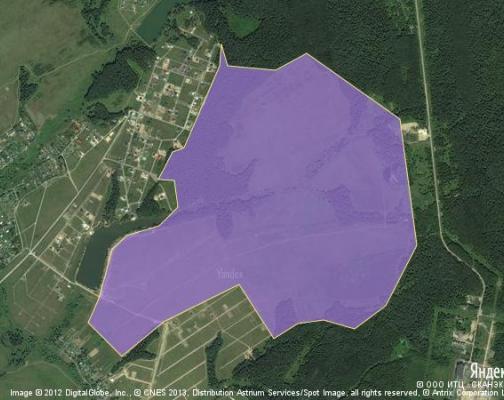 Участок 230.0 га под коттеджный поселок, Масново-Жуково, Чеховский район