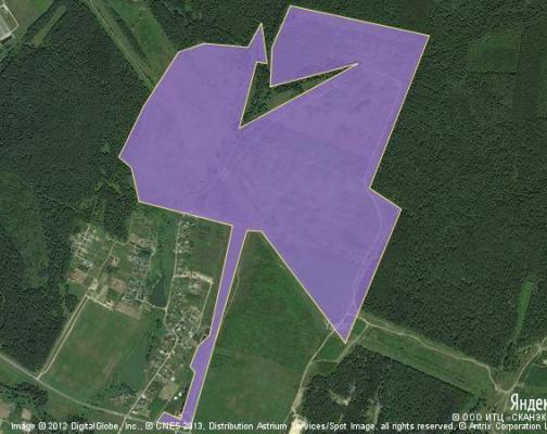 Участок 200.0 га под коттеджный поселок, Дулово, Чеховский район