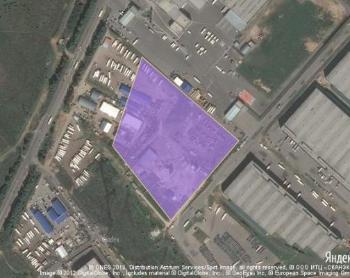 Участок 5.8 га под промышленно-складской комплекс, Домодедово, Домодедовский район