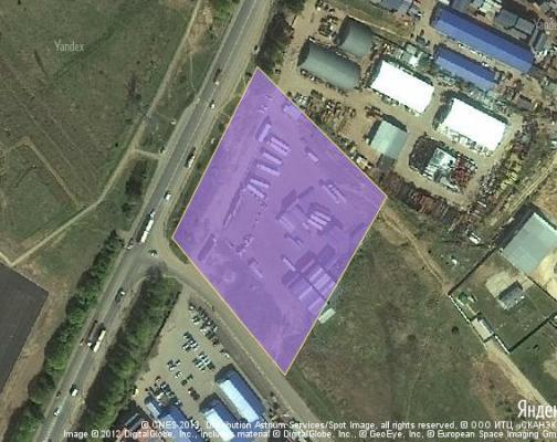 Участок 1.33 га под промышленно-складской комплекс, Домодедово, Домодедовский район