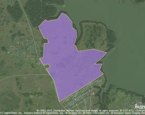 Участок 130.0 га под коттеджный поселок, Дьяково, Истринский район