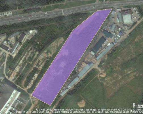 Участок 5.89 га под промышленно-складской комплекс, Мытищи, Мытищинский район