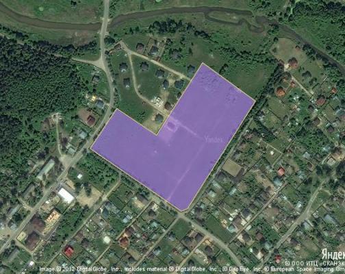 Участок 5.6 га под коттеджный поселок, Зюзино, Раменский район