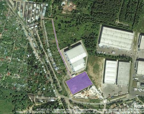 Участок 1.28 га под промышленно-складской комплекс, Климовск, Московская область район