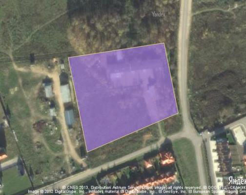 Участок 2.0 га под промышленно-складской комплекс, Александровка, Красногорский район