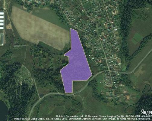 Участок 9.0 га под коттеджный поселок, Дедешино, Истринский район