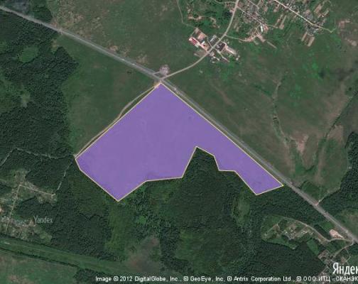 Участок 76.0 га под сельскохозяйственную деятельность, Городково, Шаховской район