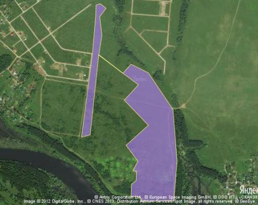 Участок 24.44 га под коттеджный поселок, Дерново, Можайский район