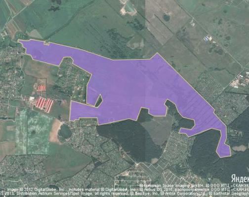 Участок 533.0 га под коттеджный поселок, Захариха, Раменский район