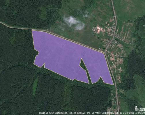 Участок 111.1 га под сельскохозяйственную деятельность, Гордино, Шаховской район