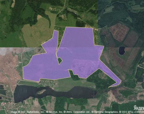 Участок 517.95 га под сельскохозяйственную деятельность, Соснино, Волоколамский район