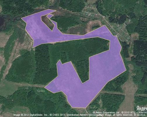 Участок 157.05 га под сельскохозяйственную деятельность, Каменки, Волоколамский район