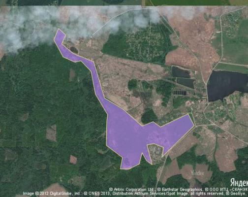 Участок 199.58 га под сельскохозяйственную деятельность, Куликово, Волоколамский район