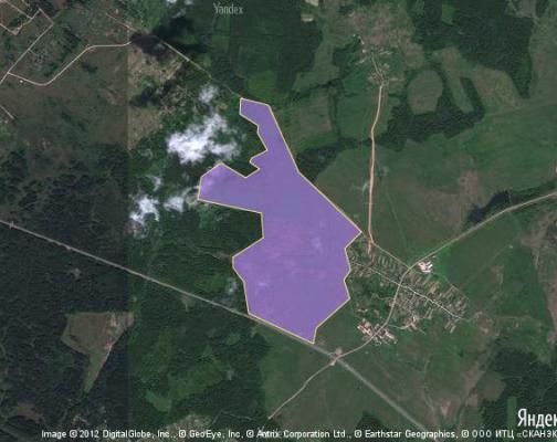 Участок 209.38 га под сельскохозяйственную деятельность, Городково, Шаховской район