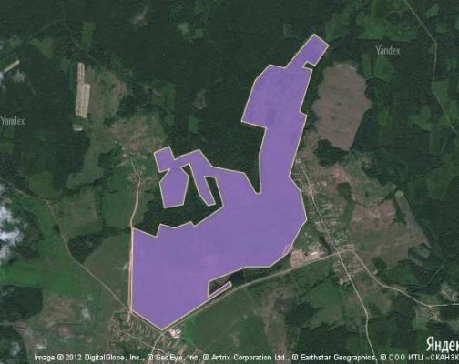 Участок 399.47 га под сельскохозяйственную деятельность, Даниловка, Шаховской район