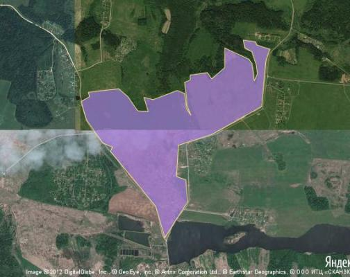 Участок 405.7 га под сельскохозяйственную деятельность, Соснино, Волоколамский район