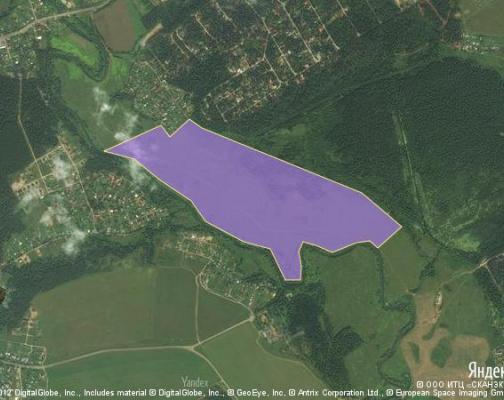 Участок 72.0 га под коттеджный поселок, Каблуково, Щелковский район