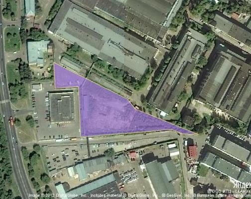 Участок 0.95 га под промышленно-складской комплекс, Подольск