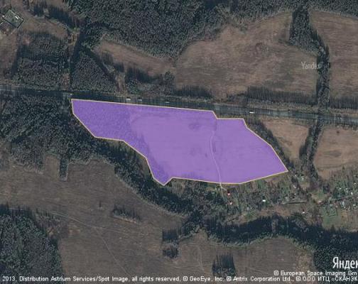 Участок 33.0 га под коттеджный поселок, Вышнее, Можайский район