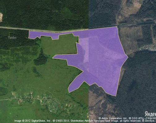 Участок 123.0 га под коттеджный поселок, Клемятино, Можайский район