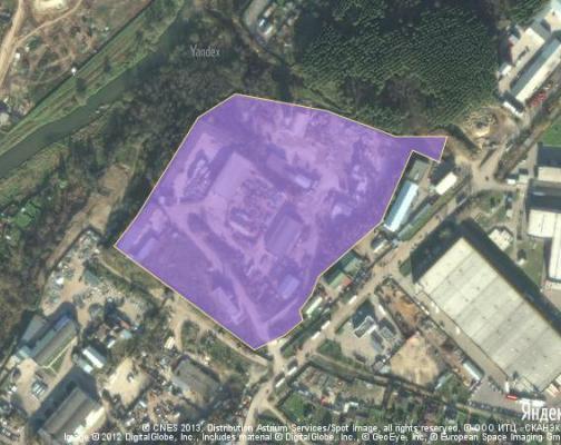 Участок 8.5 га под промышленно-складской комплекс, Лешково, Истринский район