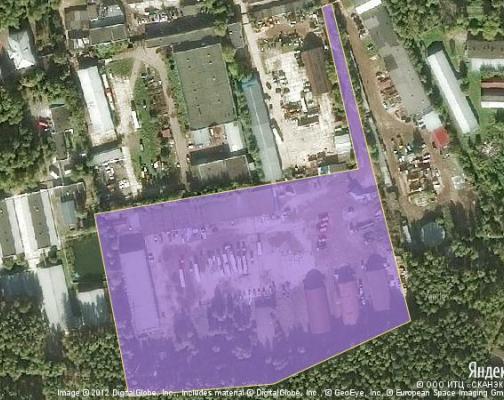 Участок 3.0 га под промышленно-складской комплекс, Купавна, Балашихинский район