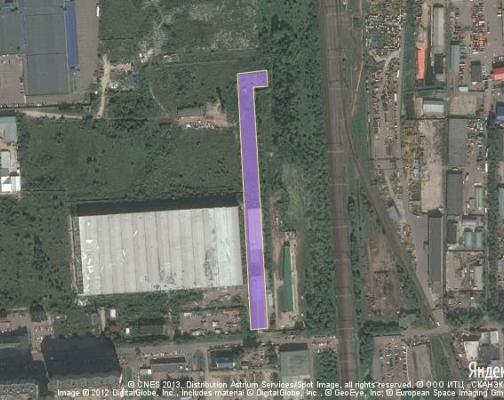 Участок 1.3 га под промышленно-складской комплекс, Знамя Октября, Новая Москва район