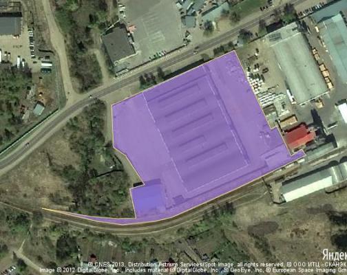 Участок 2.34 га под промышленно-складской комплекс, Лыткарино, Люберецкий район