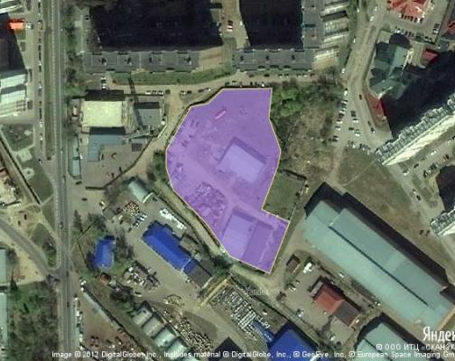 Участок 1.05 га под промышленно-складской комплекс, Железнодорожный