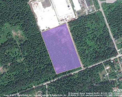 Участок 4.8 га под промышленно-складской комплекс, Калининец, Наро-Фоминский район